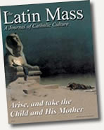 Latin Mass Magazine - Fall 2003